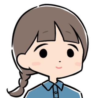 求職者のイラスト(介護士ちゃん)