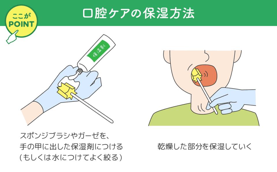 入れ歯を外したあとの口腔内の保湿方法