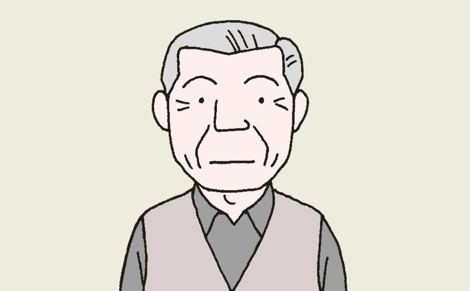 Lさん 82歳・男性・要介護1・認知症:高度