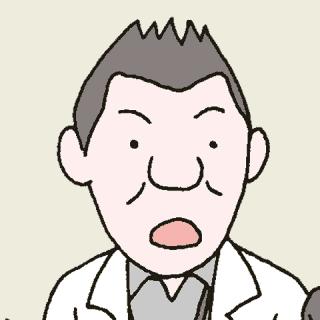 クレーム対応にあたる介護施設職員のイラスト